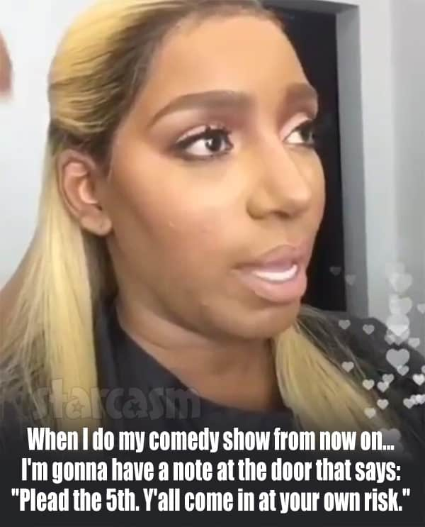 NeNe Leakes Plead the 5th quote