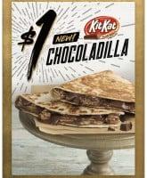 Taco Bell Kit Kat Chocoladilla chocolate quesadilla