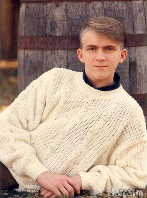 90 Day Fiance Josh Batterson throwback high school senior portrait photo