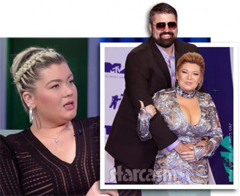 Amber Portwood pregnant with boyfriend Andrew Glennon's baby