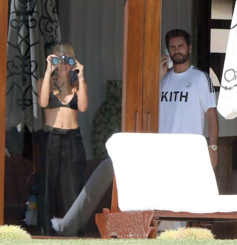 Scott Disick and his girlfriend the young Sofia Richie again spending a few romantic days in Mexico