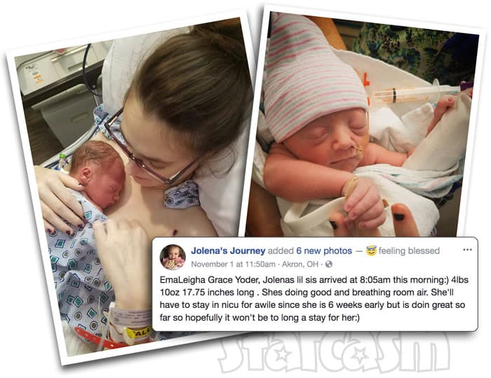 Breaking Amish LA Elizabeth Betsy Yoder second baby