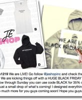 Jenelle Eason launches clothing line in JE Shop with hoodies tanks and tees