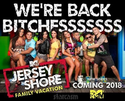 MTV Jersey Shore Family Vacation