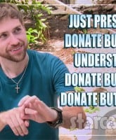 Before the 90 Days Paul Staehle finger sign language donate meme