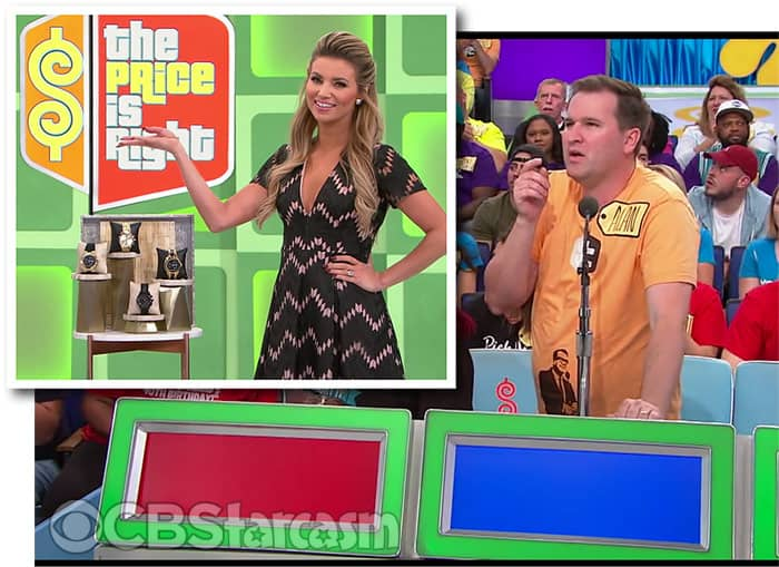 Alan Cox bidding on The Price Is Right