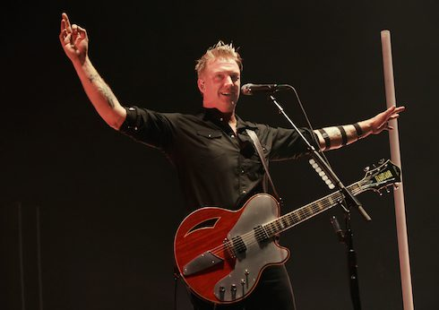 Queens of the Stone Age perform live