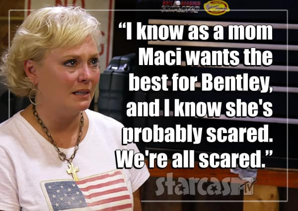 Teen Mom OG Ryan Edwards' mom Jen quote about Maci