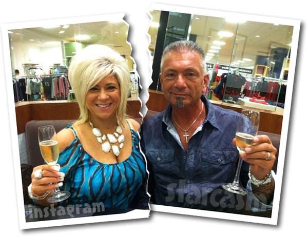 Long Island Medium Theresa Caputo  and husband Larry Caputo split
