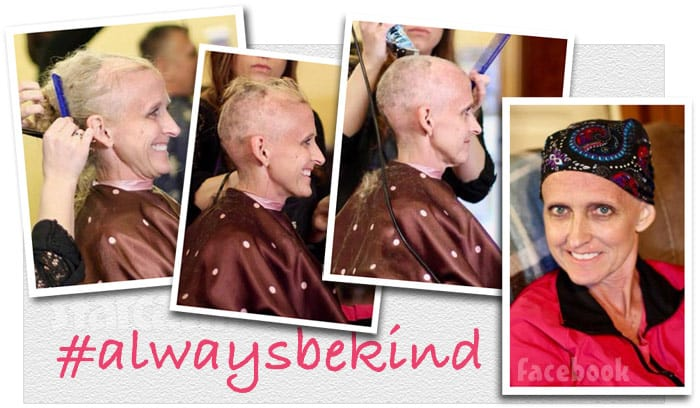 Angie Douthit cancer haircut