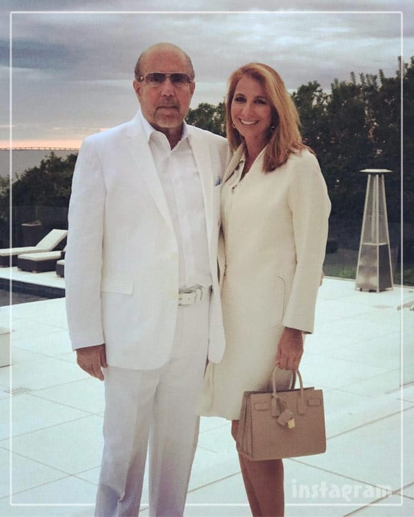 Jill Zarin and Bobby Zarin together