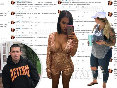 Kail Lowry Briana DeJesus Javi Marroquin Twitter feud