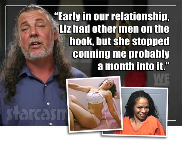Lizzie and Scott from Love After Lockup