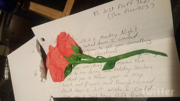 Love After Lockup Angela's Christmas letter from Tony