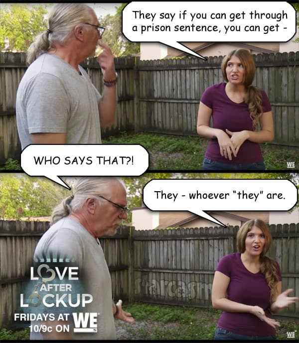 Love After Lockup Johnna and her dad