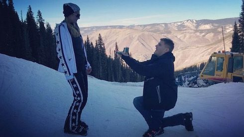 Paris Hilton got engaged