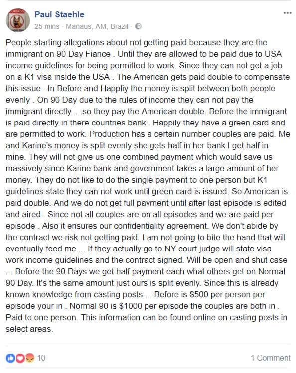 Before the 90 Days Paul Staehle on Luis' TLC lawsuit over 90 Day FIance compensation