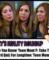 Farrah Abraham faces The Ashley Teen Mom quiz