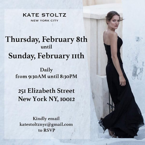 Breaking Amish Kate Stoltz New York City pop-up shop flyer