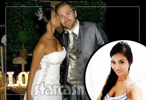 before the 90 days paul and karine wedding photo surfaces
