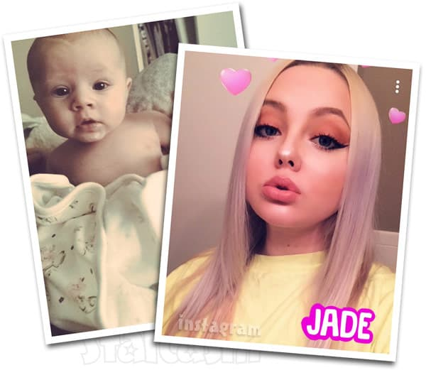Teen Mom Jade Cline daughter Kloie