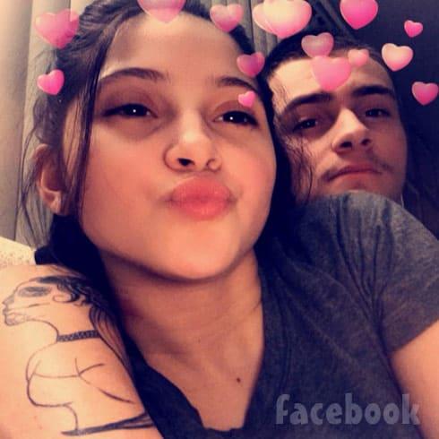 Teen Mom Young And Pregnant Brianna Jaramillo and boyfriend Robert Reams