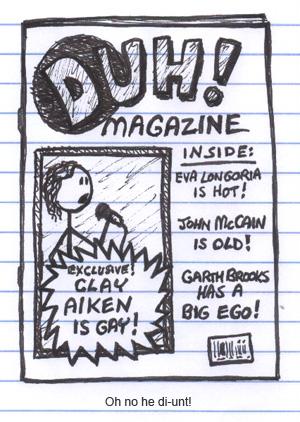 Clay Aiken Is Gay