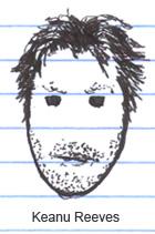 Keanu Reeves on trial