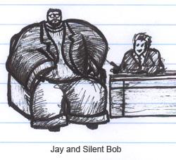 Kevin Smith Jay Leno Silent Bob