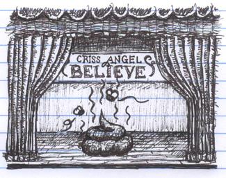 Criss Angel Cirque du Soleil Believe at the Luxor in Las Vegas