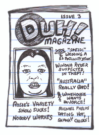 Duh Magazine featuring Rosie O'Donnell