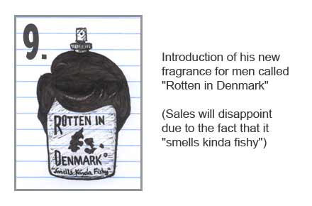 Rod Blagojevich has a new fragrance for men called Rotten in Denmark