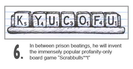 Rod Blagojevich invents an all profanity version of Scrabble