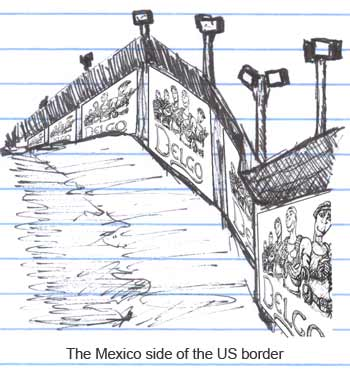The US tries a new method of discouraging Mexicans from crossing the border