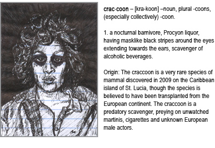 Dictionary entry for craccoon