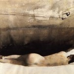 Another Andrew Wyeth painting from the Helga series