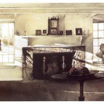 Big Room by Andrew Wyeth