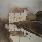 Flour Mill by Andrew Wyeth
