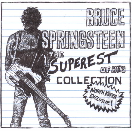 North Korea exclusive Bruce Springsteen greatest hits cd