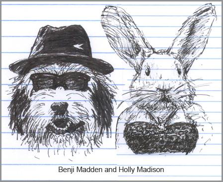 Benji Madden and Holly Madison make a good couple