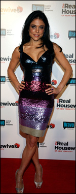 Bethenny Frankel at the Real Housewives of NYC premiere