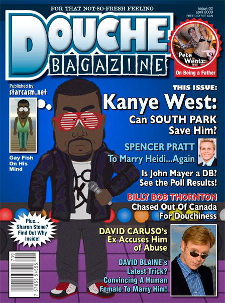 Douche Bagazine Issue 2 featuring Kanye West