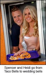 Heidi Montag and Spencer Pratt to go from Taco Bells to wedding bells