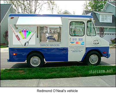 The vehicle Redmond O'Neal was driving when he was arrested