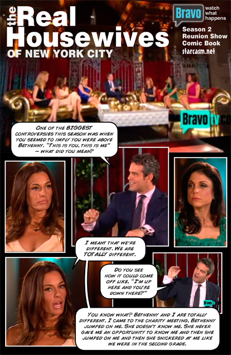 Real Housewives of New York Reunion Comic Book
