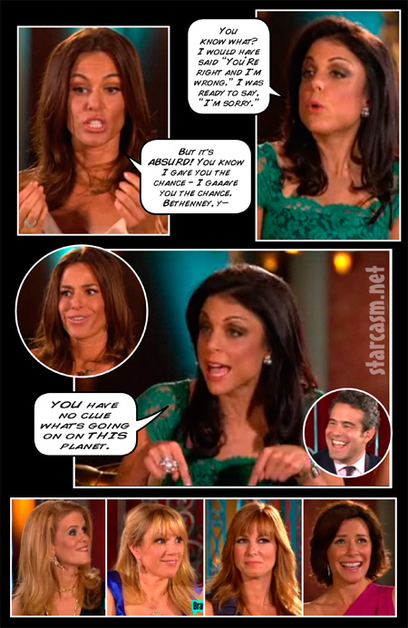 Real Housewives of New York City Reunion Comic Book