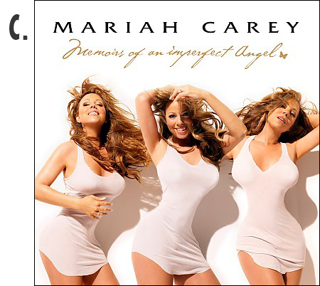 Mariah Carey Memoirs of an Imperfect Angel photoshopped