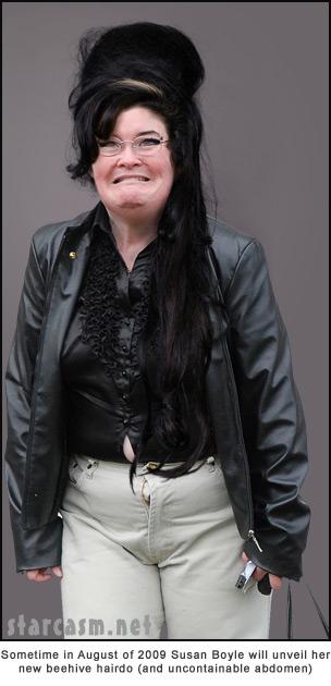 Susan Boyle heads down a dark road