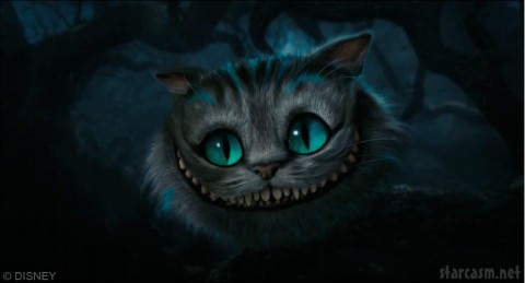 The Cheshire Cat from Alice in Wonderland by Tim Burton