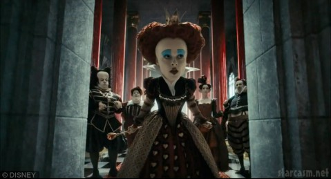 Helena Bonham Carter in Alice in Wonderland by Tim Burton